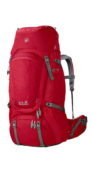 Jack Wolfskin Denali 60 Trekkingrygsæk Damer rød